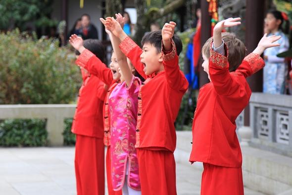 Chinese New Year at Lan Su Chinese Garden