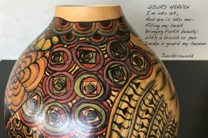 Jinx Griswold - Gourd Painting