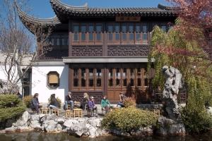 Teahouse at Lan Su Chinese Garden